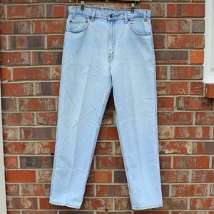 Levi's Y2K Relaxed 540 Faded Blue White Jean 36x30